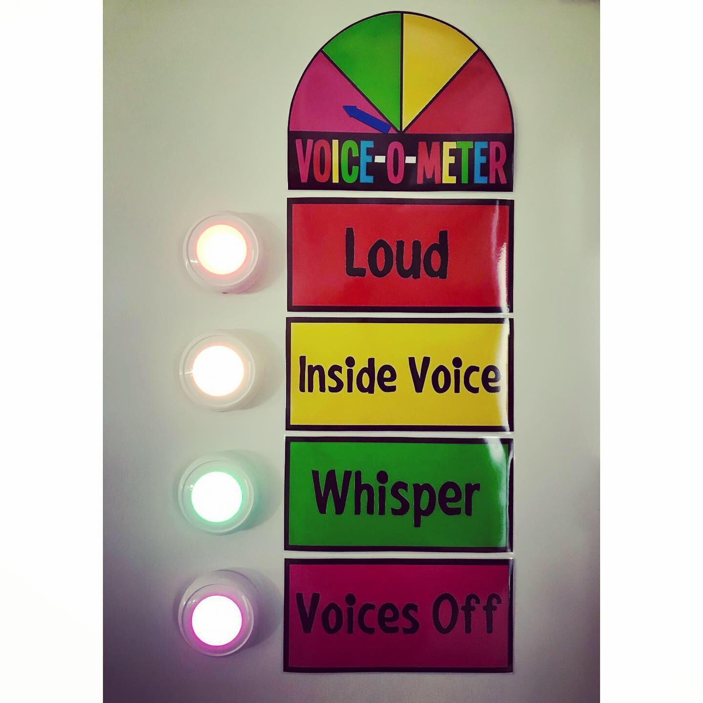 Voice-o-meter!
