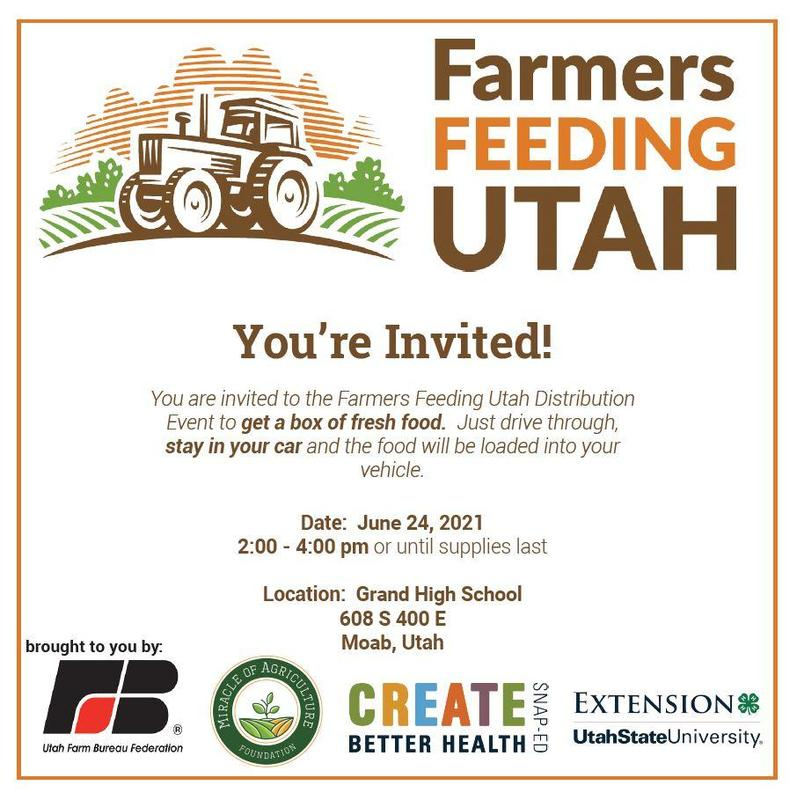 Farmers Feeding Utah making delivery of food in Moab Featured Photo