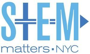 STEM Matter NYC Logo with blue writing