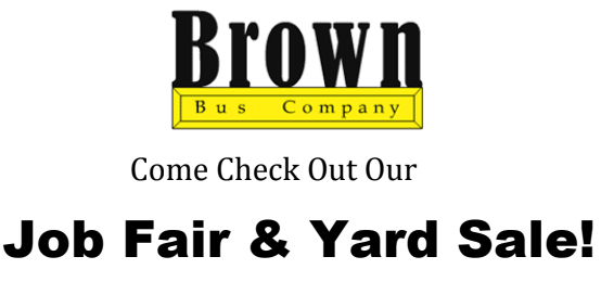 Brown Bus Job Fair