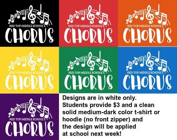 chorus shirt