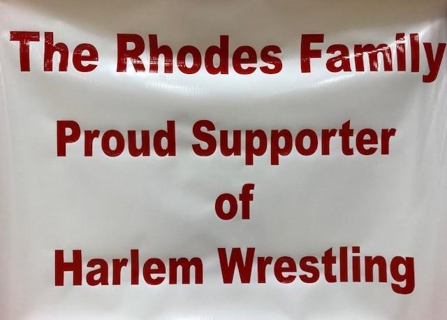 Rhodes Family Banner