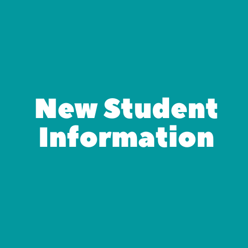 New Student Information Thumbnail Image