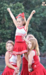 picture of youth cheerleaders