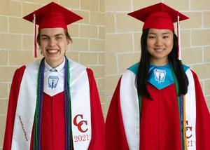 CHS 2021 Valedictorian and Salutatorian