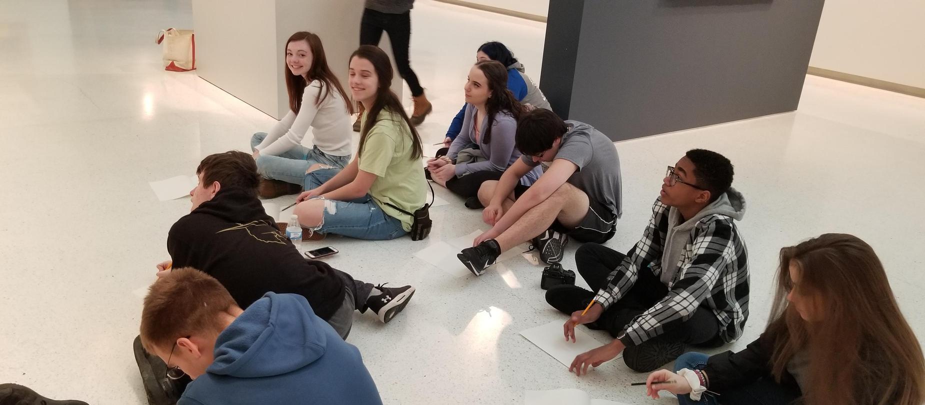 High School Art Field Trip