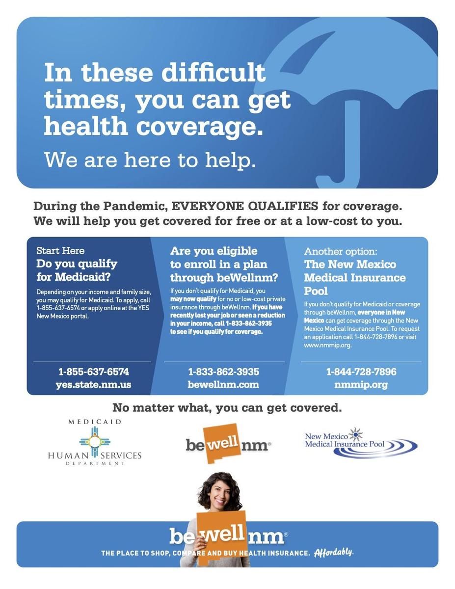 NMHealth Insurance Info
