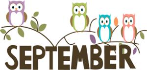 September owls for the calendar