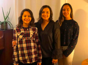 Christy Moreno & her children
