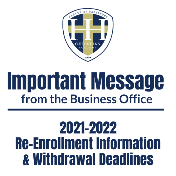 HHCA Business Office Message