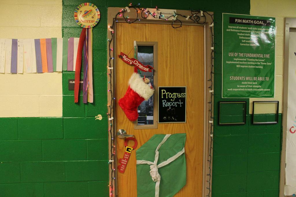 Cross Country » Album Home » Christmas Door Decorations »