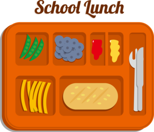 Clip art for school lunch.