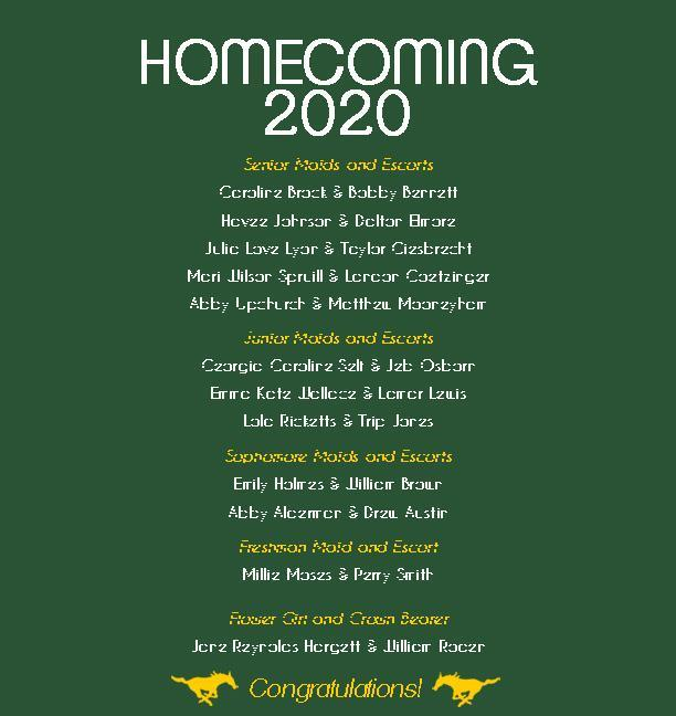 Homecoming 2020 Featured Photo