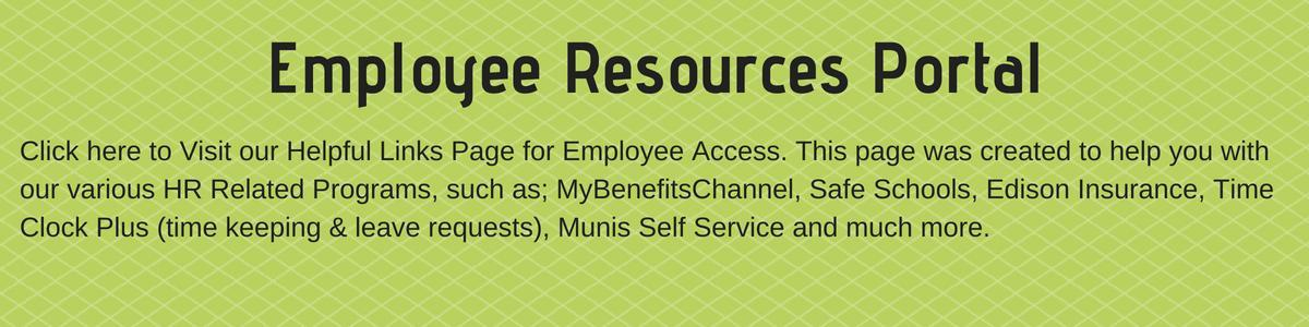 Employee Resources Portal