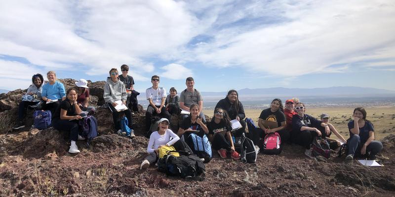 Prep students study volcanoes