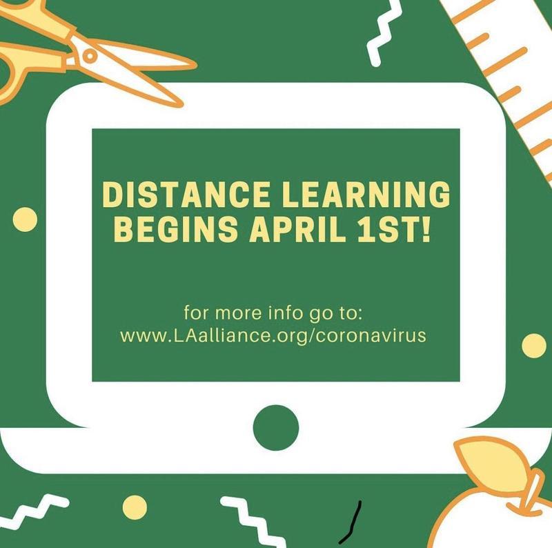 Distance Learning Begins April 1st!/ Aprendizaje Remoto Comienza El 1 De Abril! Thumbnail Image