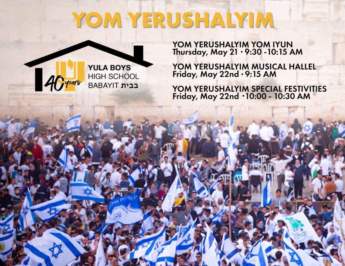 Yom Yershalyaim 1