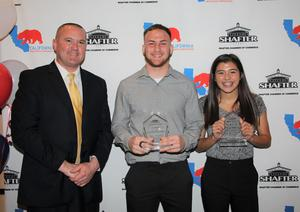 Shafter recognized at awards banquet