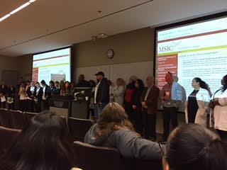All MSJC presenters at Welcome session