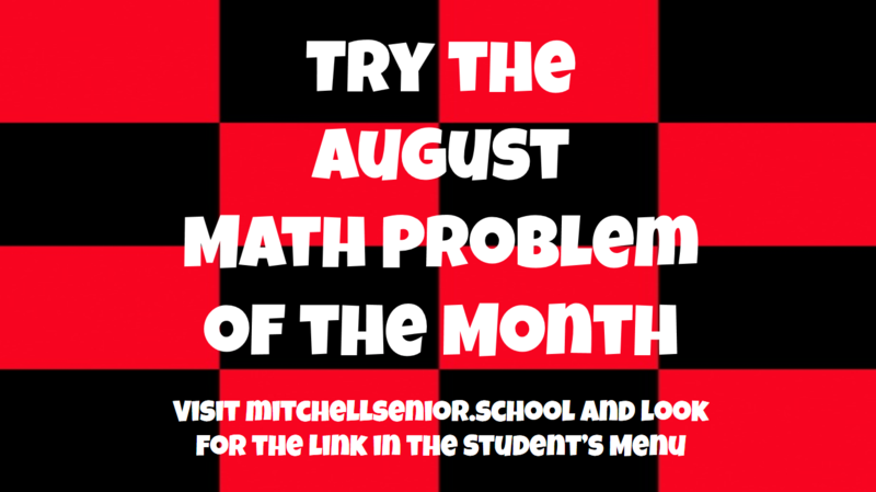 Math Problem of the Month