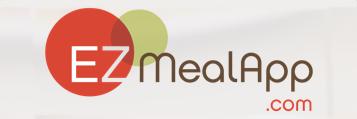 EZ MealApp button