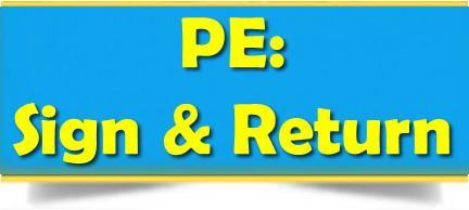 PE Sign & Return Form Thumbnail Image