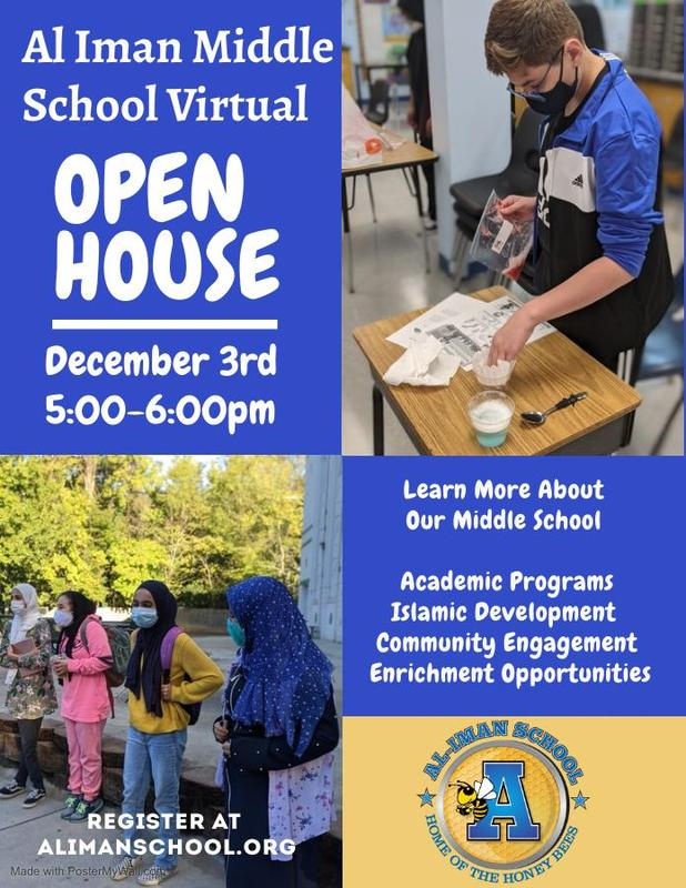 Middle School Open House Registration Featured Photo