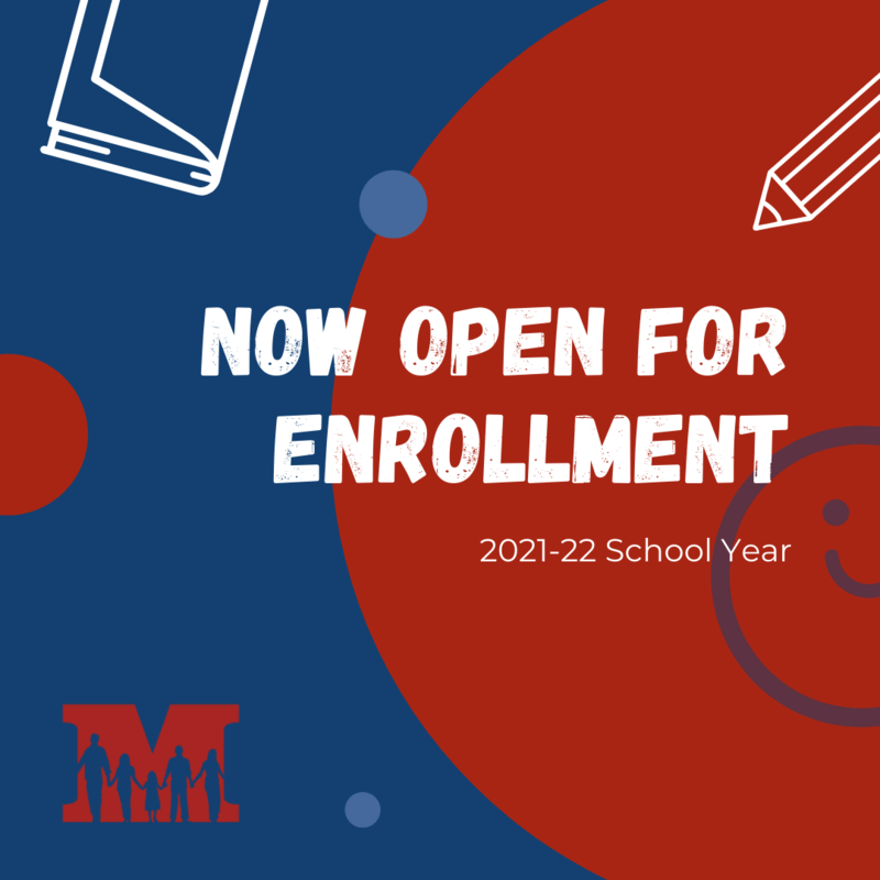 Now Open for Enrollment Graphic