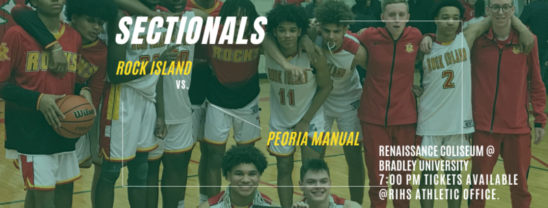 RIHS Boys' Basketball Sectional Tickets Featured Photo