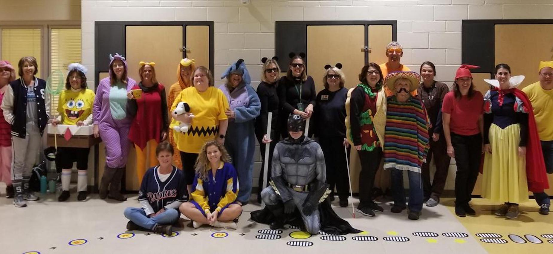 Halloween at Coloma Elementary