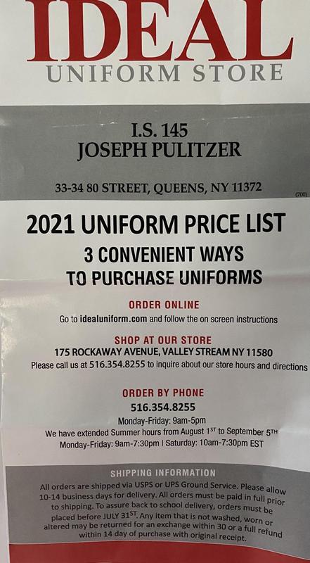 Where to buy school uniform?