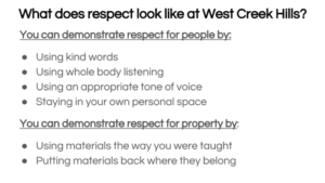 D-Demonstrate Respect for People and Property