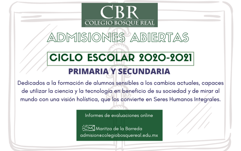 Admisiones ciclo 2020-2021 Featured Photo