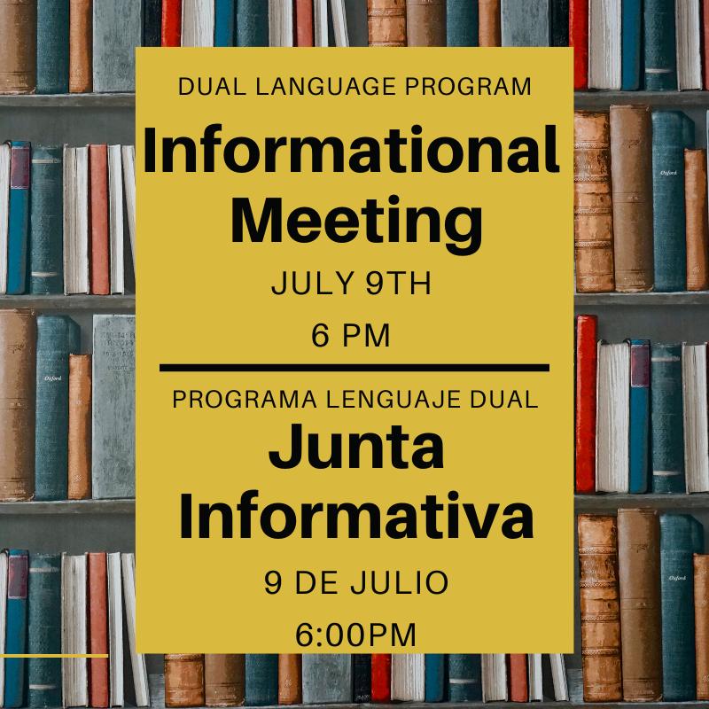 Dual Language Program Information Meeting Featured Photo