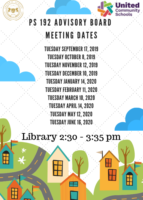 Advisory Board Dates