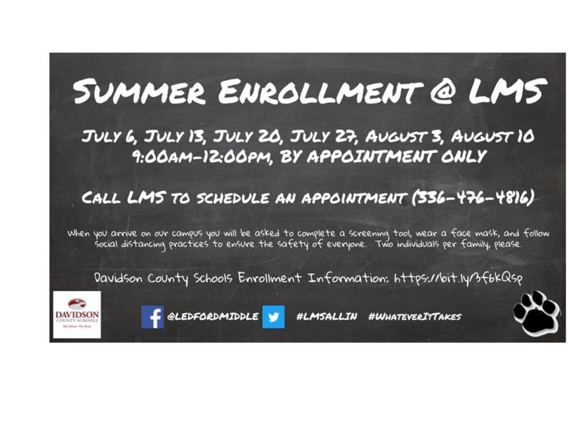 Summer Enrollment