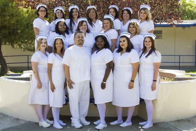 Class photo of Vocational Nursing Class 23 Graduates, August 2018