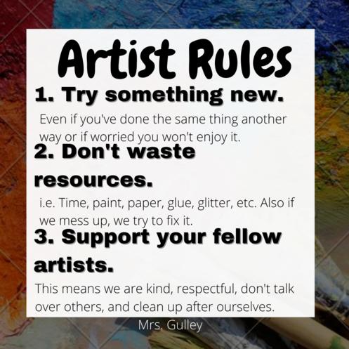 Artist Rules