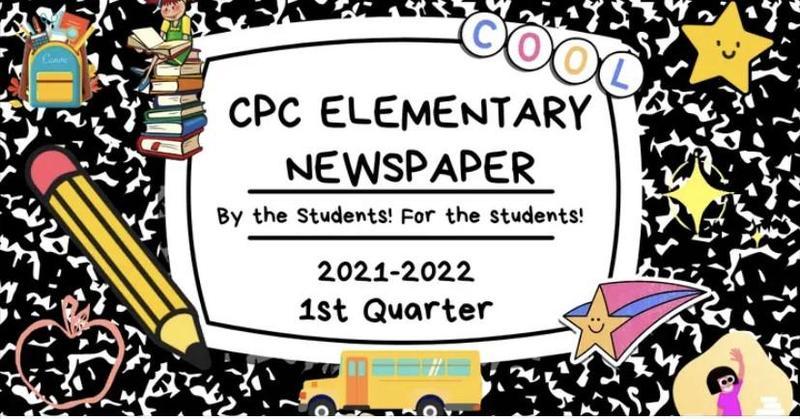 Elementary 1st Quarter Newspaper Featured Photo