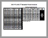 Finals Schedule icon