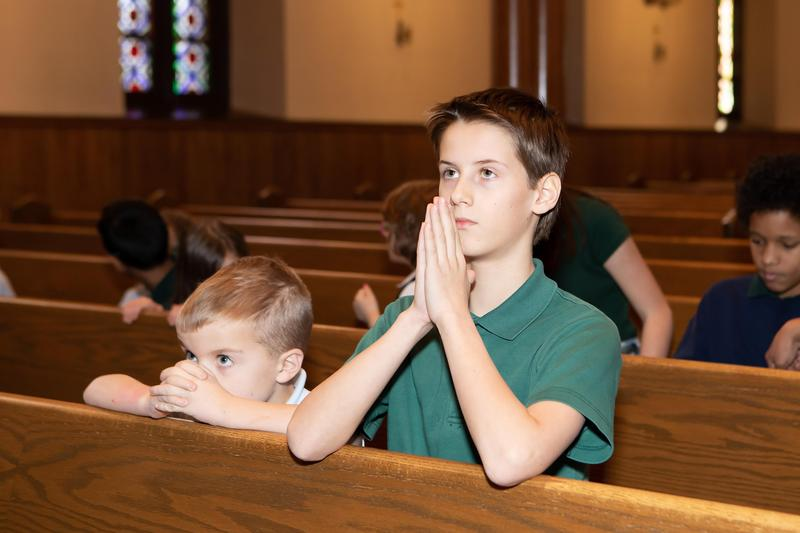 Join Us Virtually for Weekly School Mass Featured Photo