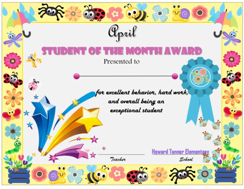 April Student of the month! Featured Photo
