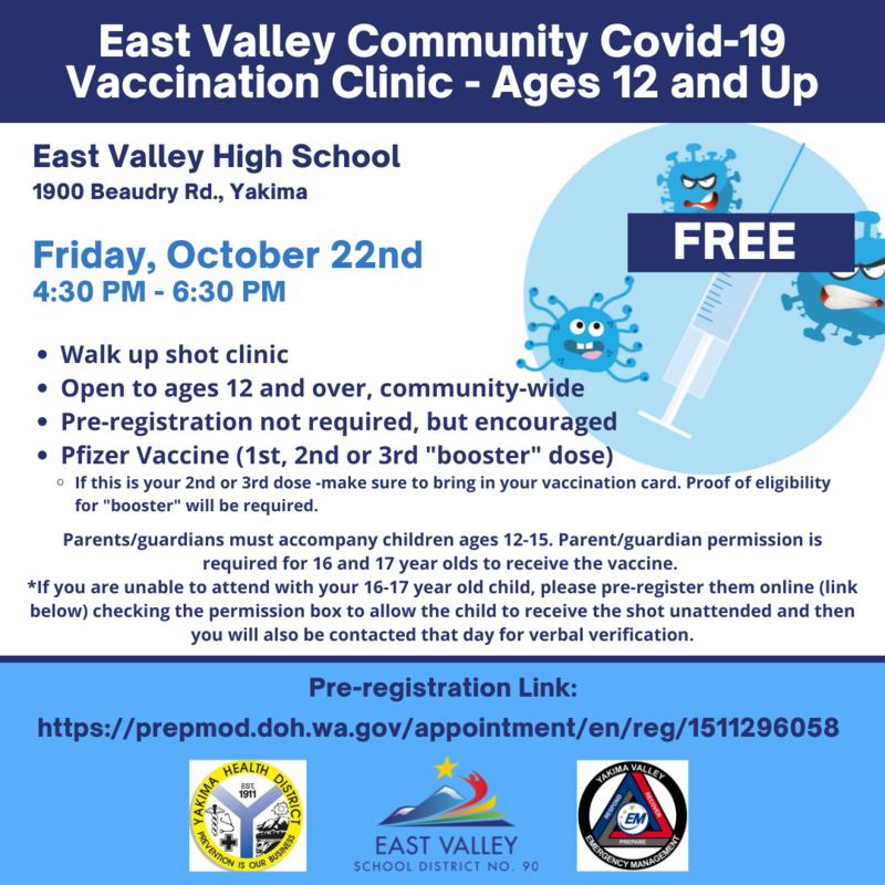 EV Community COVID-19 Vaccination Clinic