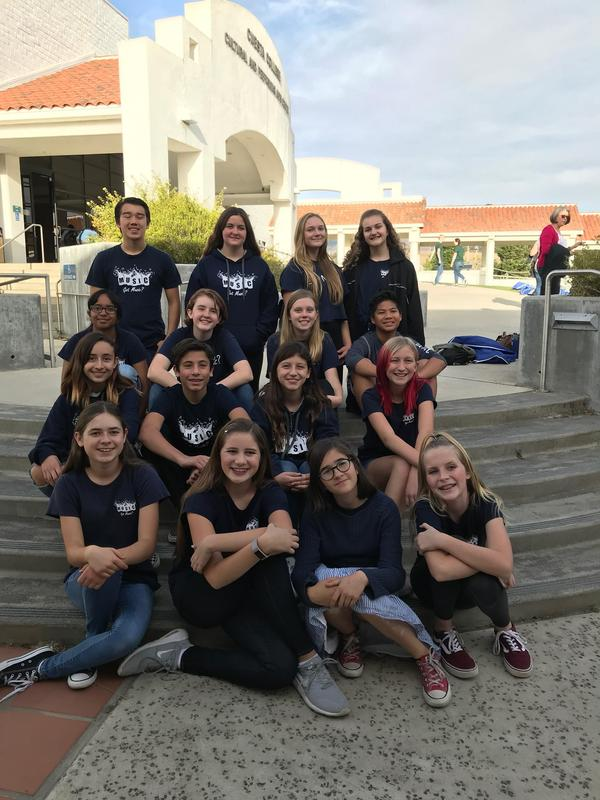 Our Jazz Hawks received a standing ovation at the Cuesta College Jazz Festival last weekend!!