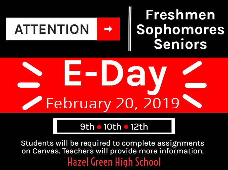 E-Day announcement graphic