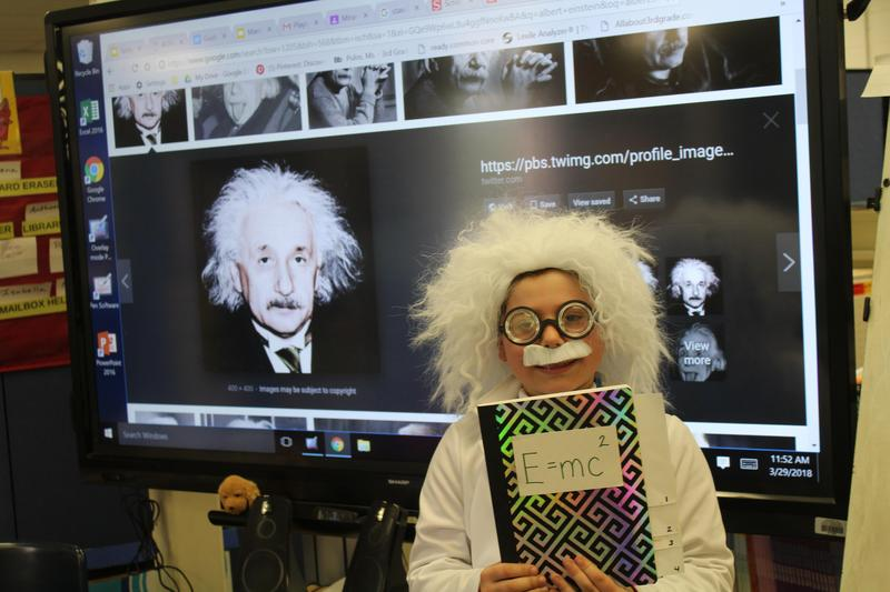 Wed.   March 27 , Gr. 3 Wax Museum Featured Photo