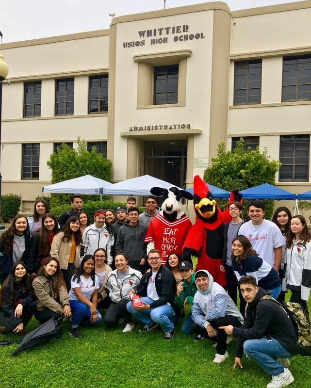 Whittier High Grants a Wish for Free Chick-fil-A Featured Photo