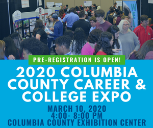 CC Career and College Expo flyer