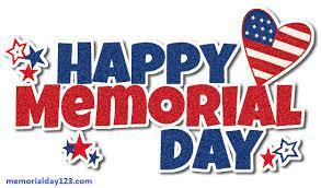 Memorial Day May 27th 2019 No School Featured Photo