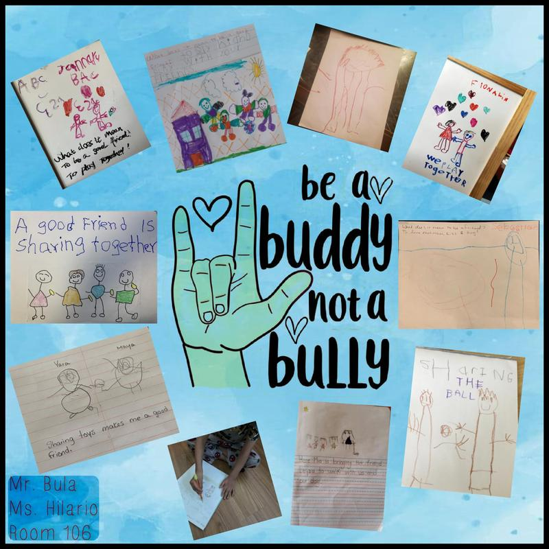 anti-bullying poster collage